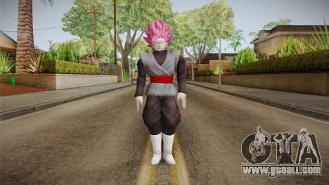 DBX2 - Goku Black SSJR for GTA San Andreas second screenshot
