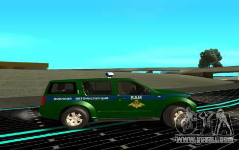 Nissan Pathfinder for GTA San Andreas left view