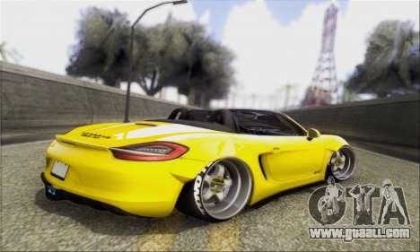 Porsche Boxter GTS L3DWork for GTA San Andreas left view