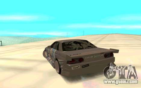 Nissan Skyline GT-R for GTA San Andreas back left view