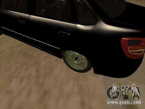 Lada Granta Armenian for GTA San Andreas right view