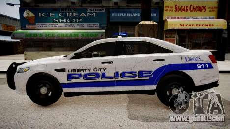 Ford Interceptor Liberty City Police for GTA 4