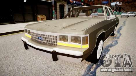 Ford LTD Crown Victoria 1989 for GTA 4