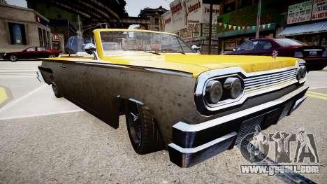 Voodoo Cabrio for GTA 4