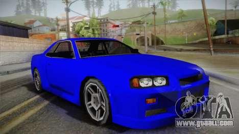 Nissan Skyline Lowpoly for GTA San Andreas