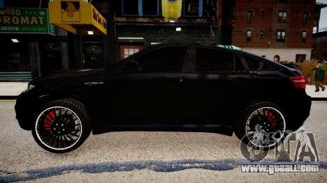 BMW X6 Hamann v2.0 for GTA 4 left view