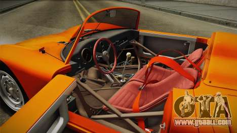 Porsche 718 Spyder RS 1960 for GTA San Andreas inner view