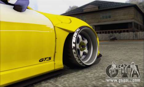 Porsche Boxter GTS L3DWork for GTA San Andreas back left view