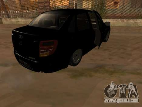 Lada Granta Armenian for GTA San Andreas