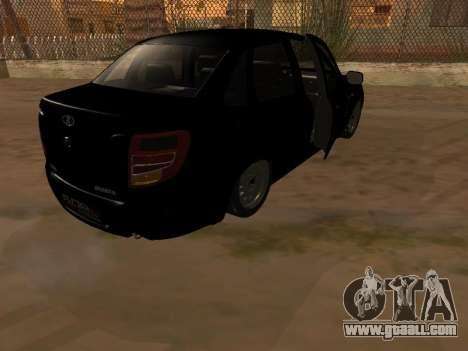 Lada Granta Armenian for GTA San Andreas inner view