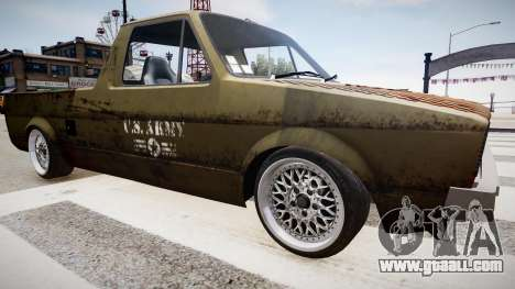 Volkswagen Caddy US Army for GTA 4