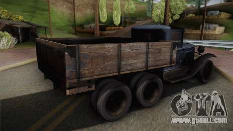 GAZ-AAA 1934 for GTA San Andreas left view
