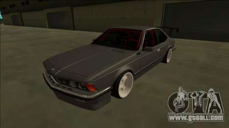 BMW M6 E24 Drift for GTA San Andreas back left view