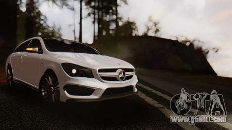 Mercedes-Benz CLA45 AMG Shooting Brakes Boss for GTA San Andreas
