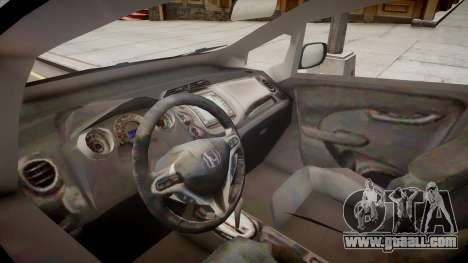 Honda Fit for GTA 4 inner view