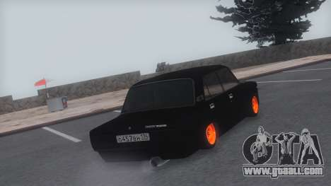 VAZ 2107 TwOne v0.1 for GTA San Andreas left view