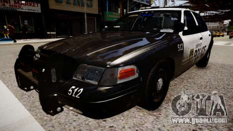 Ford Crown Victoria LCPD Police for GTA 4 right view
