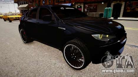 BMW X6 Hamann v2.0 for GTA 4 right view