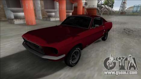 1967 Ford Mustang for GTA San Andreas right view