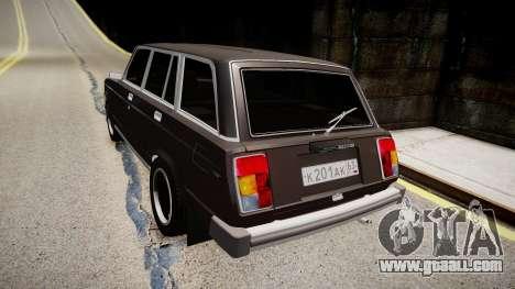 VAZ 2104 for GTA 4 back left view