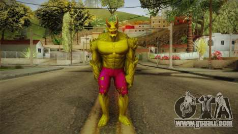 Marvel Future Fight - Green Goblin (Ultimate) for GTA San Andreas second screenshot