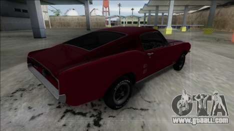 1967 Ford Mustang for GTA San Andreas left view