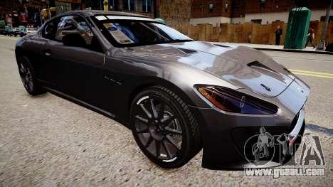 Maserati GranTurismo MC for GTA 4 right view