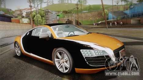 Audi Le Mans Quattro 2005 v1.0.0 YCH PJ for GTA San Andreas interior