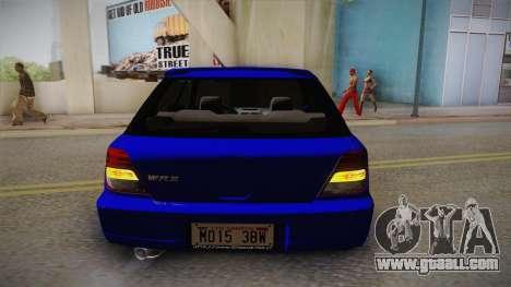 Subaru Impreza Wagon 2004 for GTA San Andreas side view