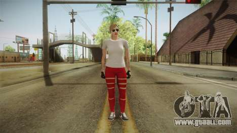 GTA 5 Online Skin Female for GTA San Andreas second screenshot