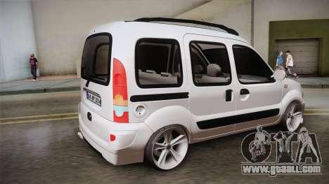 Renault Kangoo for GTA San Andreas left view