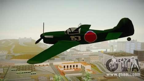 Japan World War 2 Rustler for GTA San Andreas right view