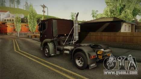 Iveco Trakker Hi-Land 4x2 Cab Low v3.0 for GTA San Andreas left view