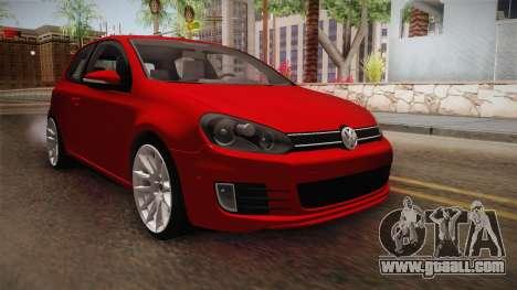 Volkswagen Golf 1.6 for GTA San Andreas
