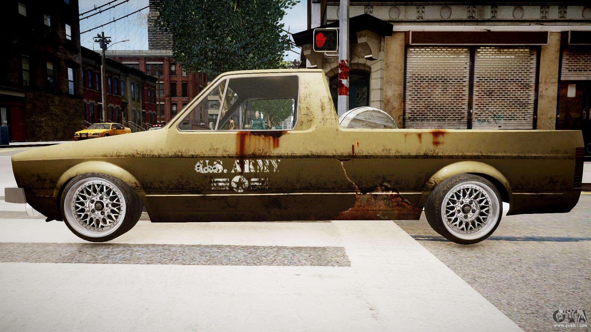 volkswagen caddy us army for gta 4. Black Bedroom Furniture Sets. Home Design Ideas