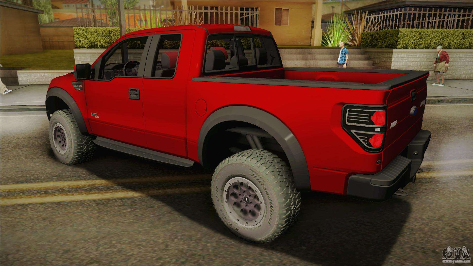 back gta elite raptor andreas ford san for f svt sa cars view