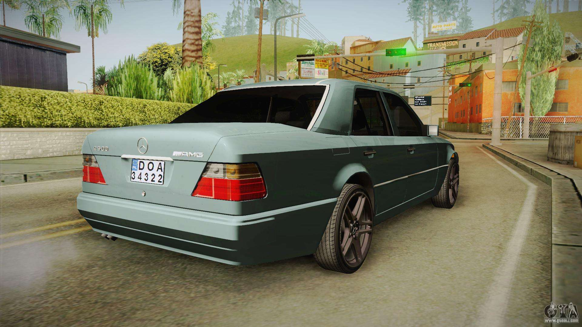 Mercedes-Benz E500 W124 AMG for GTA San Andreas