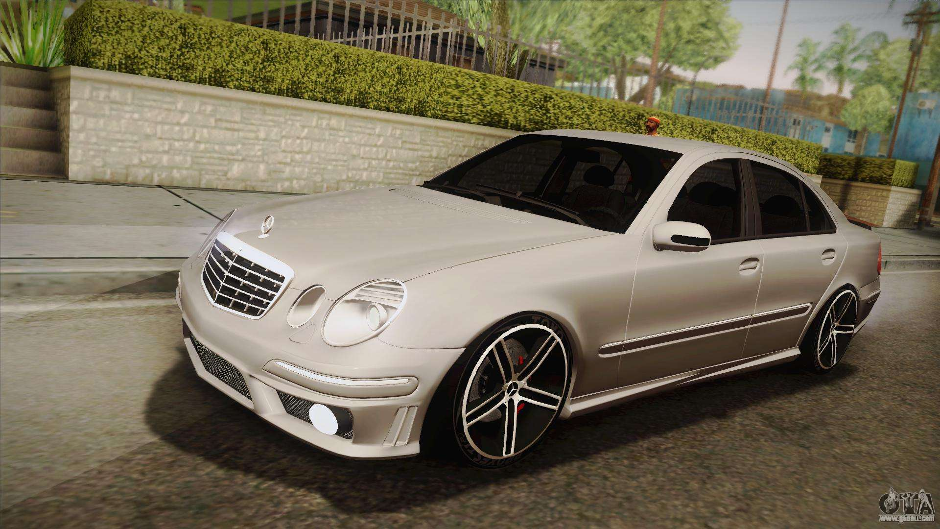 Mercedes benz e63 w211 amg for gta san andreas for Mercedes benz gta
