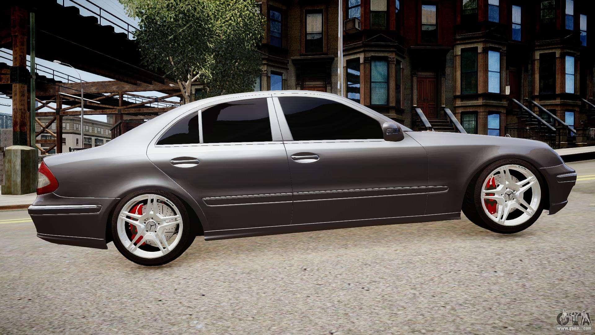 Mercedes benz amg e320 w211 for gta 4 for E320 mercedes benz