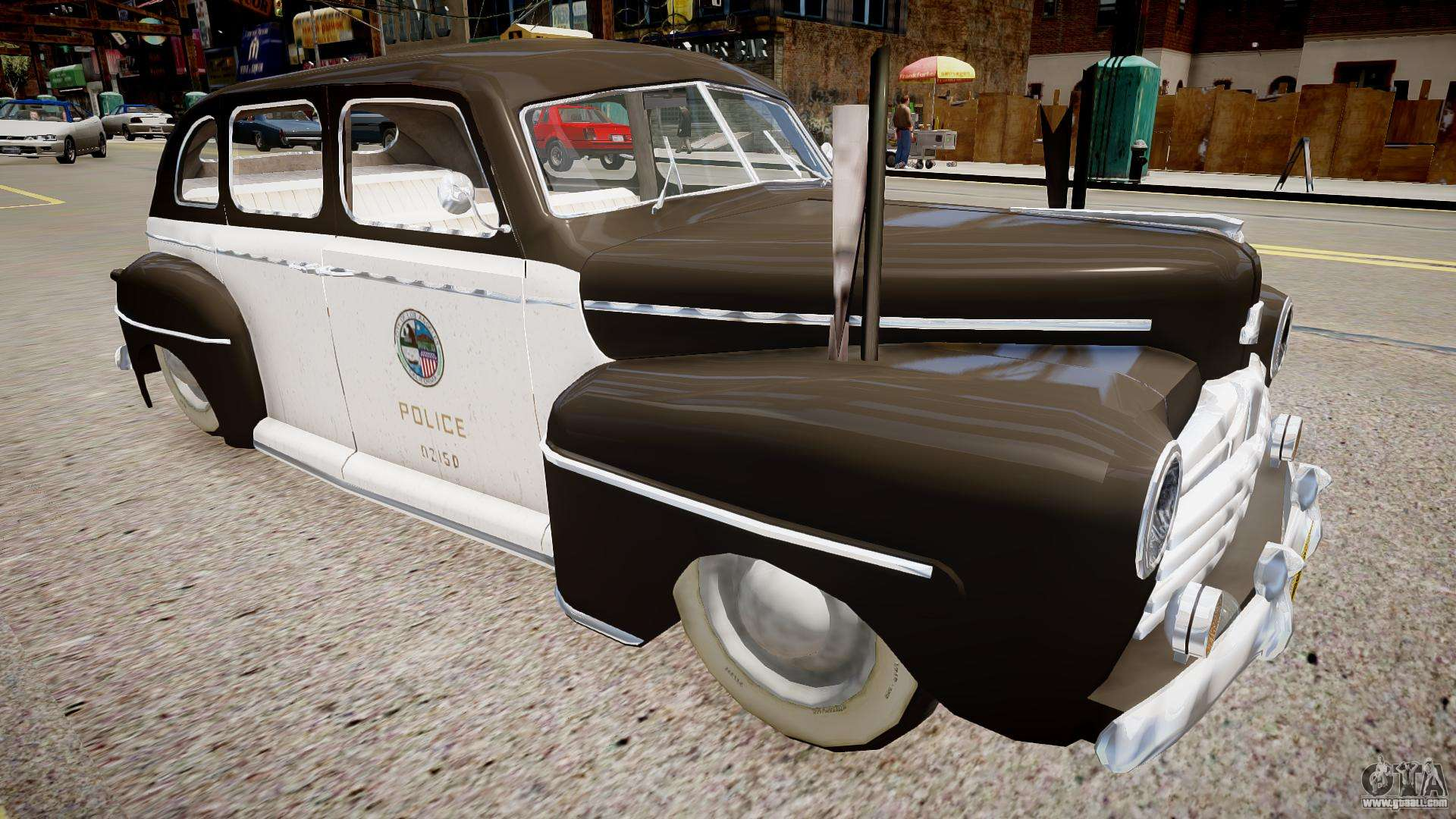Ford Police Special 1947 For Gta 4