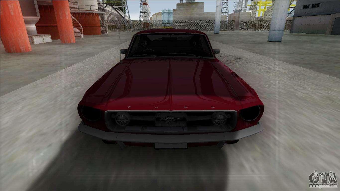 1967 ford mustang for gta san andreas
