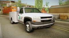 Chevrolet Silverado 2500HD Utility 2001 IVF for GTA San Andreas
