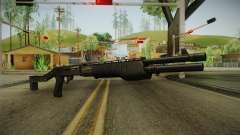 SPAS-12 Long Barrel and Magazine for GTA San Andreas