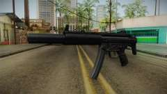 MP5 SD3 for GTA San Andreas