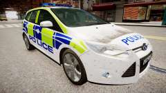 Ford Focus police UK for GTA 4
