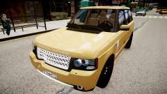Land Rover Supercharged 2012 for GTA 4