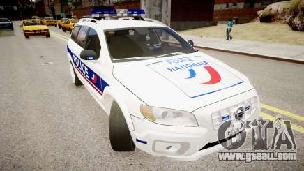 Volvo Police National for GTA 4