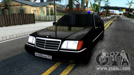 Mercedes-Benz W140 400SE for GTA San Andreas
