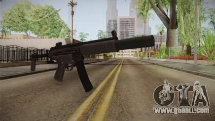 CoD 4: MW Remastered MP5 Silenced for GTA San Andreas