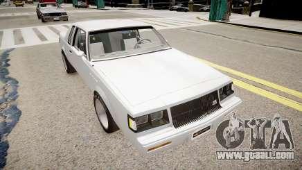 Buick Regal Grand National for GTA 4